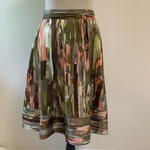 Calvin Klein water color skirt size 10